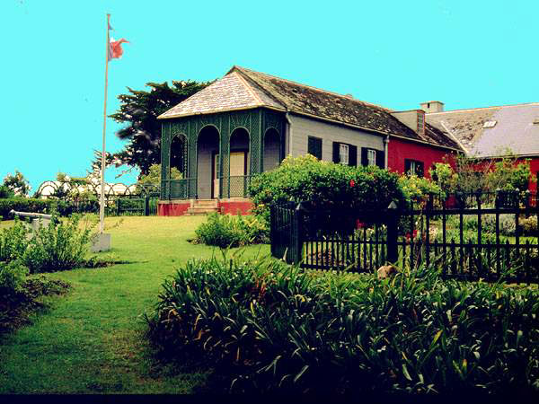 The residence of Napoleon, St Helena